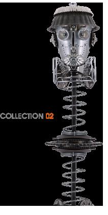 Doumkes - Création de lampes Collection numéo 2
